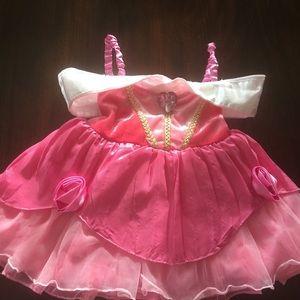 Sleeping beauty baby dress size 18-24m